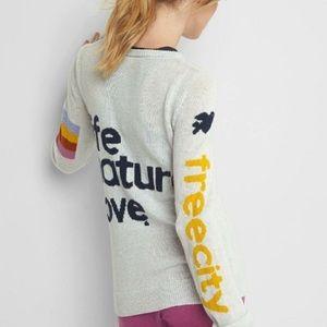 Gap x Free City Collab Sweater